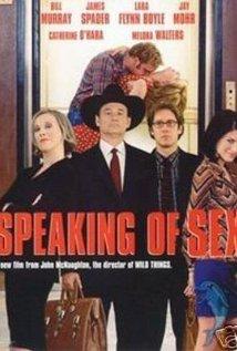 Speaking of Sex 2001 poster