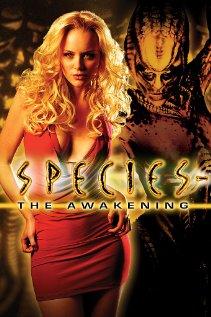Species: The Awakening 2007 poster