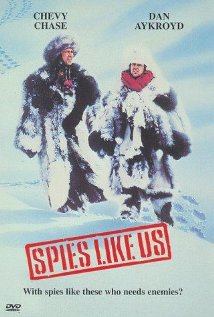 Spies Like Us (1985) cover
