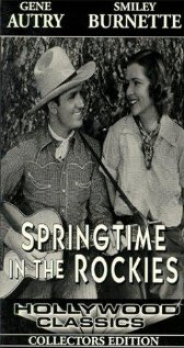 Springtime in the Rockies 1937 poster