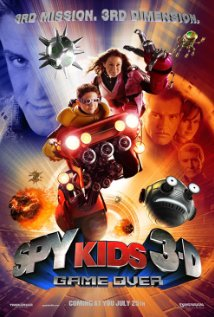 Spy Kids 3-D: Game Over (2003) cover