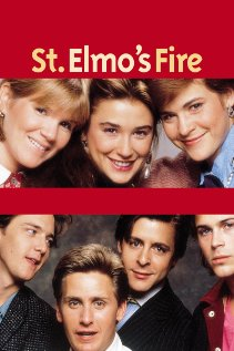 St. Elmo's Fire 1985 poster