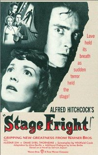 Stage Fright 1950 poster