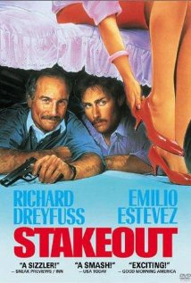 Stakeout 1987 poster