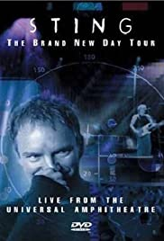 Sting: The Brand New Day Tour - Live from the Universal Amphitheatre 2000 poster
