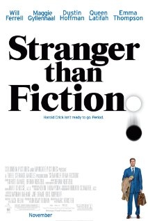 Stranger Than Fiction 2006 poster