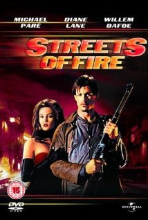 Streets of Fire 1984 poster