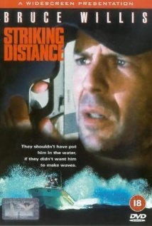 Striking Distance (1993) cover