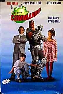 Suburban Commando (1991) cover