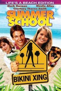 Summer School (1987) cover