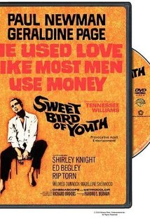 Sweet Bird of Youth 1962 poster