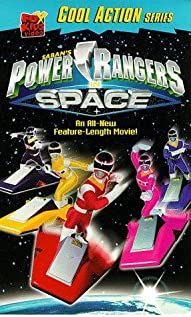 Power Rangers in Space (1998) cover