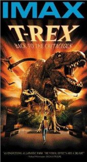 T-Rex: Back to the Cretaceous 1998 poster