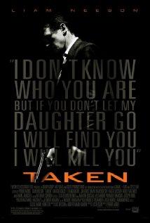 Taken (2008) cover