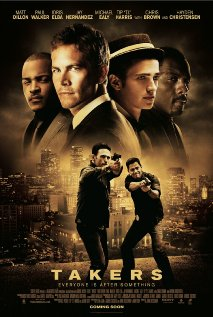 Takers 2010 poster