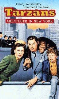 Tarzan's New York Adventure (1942) cover