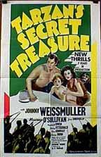 Tarzan's Secret Treasure (1941) cover