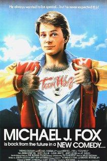 Teen Wolf 1985 poster