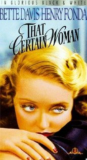 That Certain Woman (1937) cover