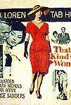 That Kind of Woman (1959) cover