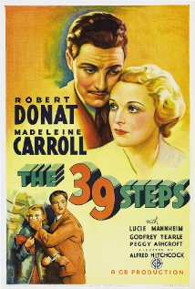 The 39 Steps (1935) cover