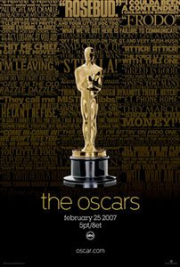 The 79th Annual Academy Awards 2007 poster