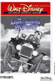 The AbsentMinded Professor (1961) cover
