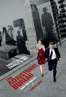 The Adjustment Bureau (2011) cover