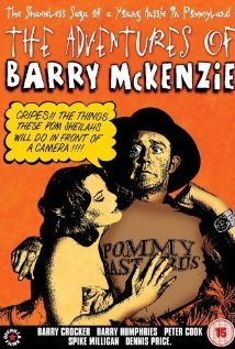 The Adventures of Barry McKenzie (1972) cover