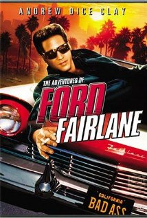 The Adventures of Ford Fairlane (1990) cover