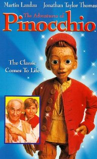 The Adventures of Pinocchio (1996) cover
