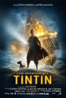 The Adventures of Tintin (2011) cover