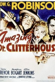 The Amazing Dr. Clitterhouse (1938) cover
