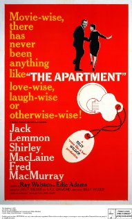 The Apartment 1960 poster