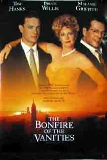 The Bonfire of the Vanities 1990 poster