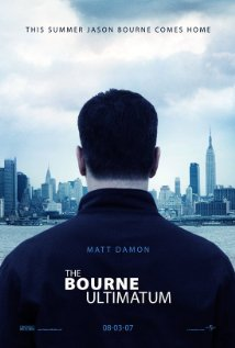 The Bourne Ultimatum (2007) cover