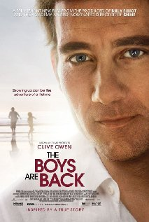 The Boys Are Back 2009 poster