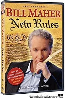 Real Time with Bill Maher 2003 poster