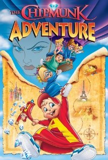 The Chipmunk Adventure (1987) cover