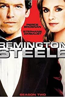 Remington Steele (1982) cover