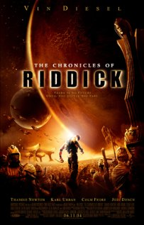 The Chronicles of Riddick 2004 poster