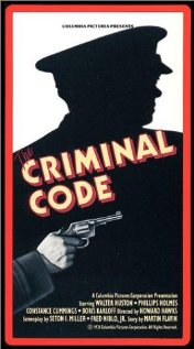 The Criminal Code (1931) cover