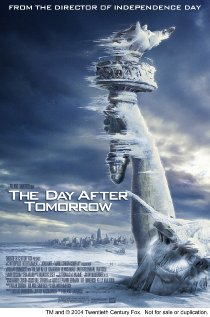 The Day After Tomorrow 2004 poster
