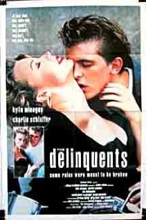 The Delinquents 1989 poster