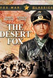 The Desert Fox: The Story of Rommel 1951 poster