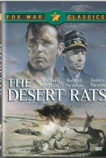 The Desert Rats 1953 poster