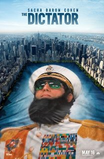 The Dictator (2012) cover
