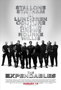 The Expendables (2010) cover