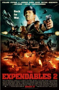 The Expendables 2 (2012) cover