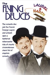 The Flying Deuces (1939) cover